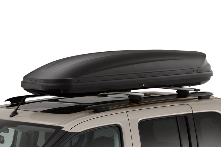 Long roof box