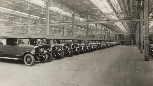 50000 Citroën cars produced per years