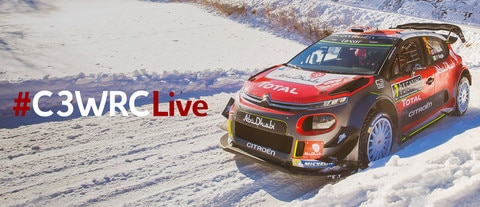 World Rally Championship: Citroën gives the green light to live shows on Facebook!