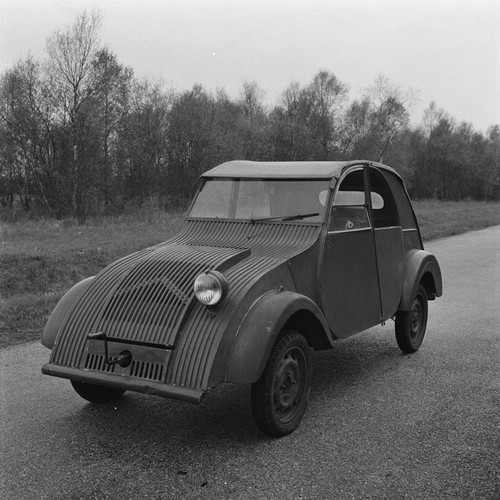 Prototype of the Citroën 2CV