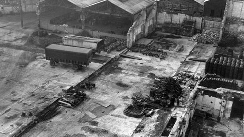 Citroën Javel factory bombed