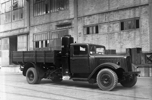 Citroën Type 23 & Type 45 able to run on gas