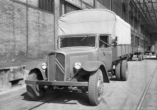 The first Citroën truck