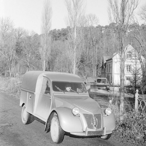 Citroën 2CV production