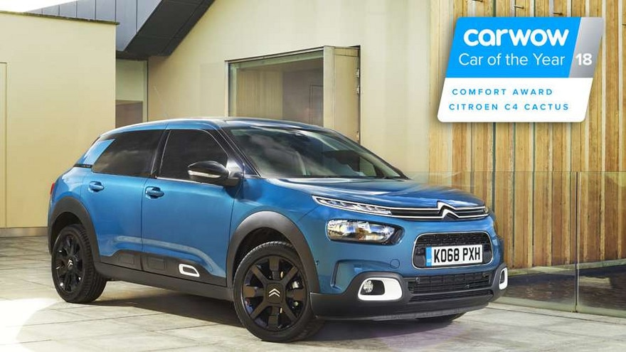 Citroen C4 Cactus >> New C4 Cactus Carwow Car Of The Year Awards Citroen Uk