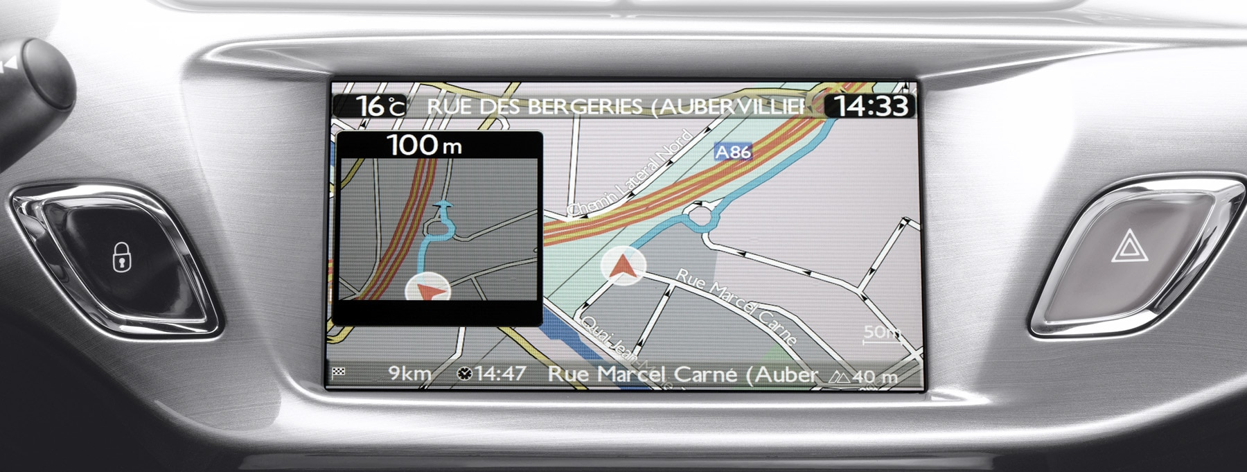 Navigation systems by Citroën