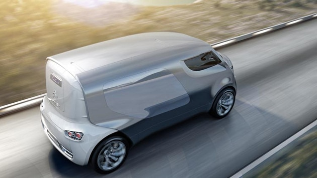 Citroën Tubik concept car- Hybrid4 technology