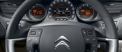 Citroën C5 Tourer - Drive station