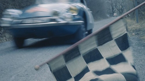 Citroën DS at the Monte Carlo Rally