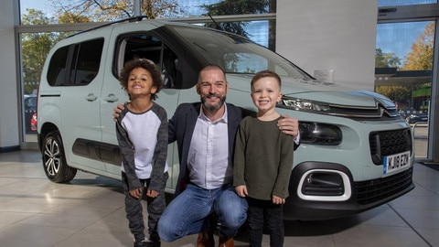 Citroën Celebrates 20 Years Of Berlingo In The UK With Channel 4's First Dates