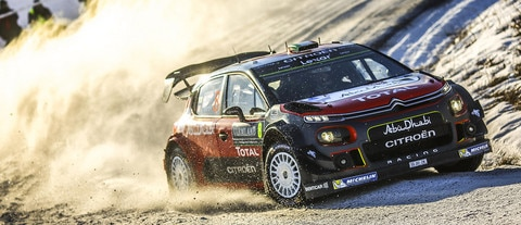 Citroën Total Abu Dhabi WRT moving in the right direction