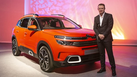 Austin Healey Joins Citroën UK As Brand Ambassador For New C5 Aircross SUV