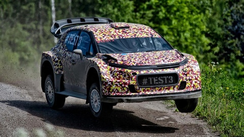 Citroën Racing's development of 2017 World Rally Car in Finland