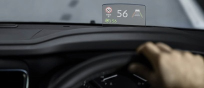 408x176 head up display