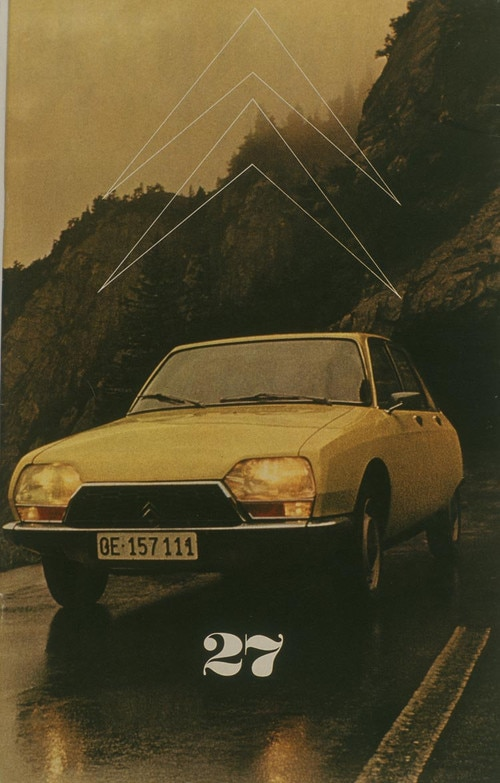 Citroën GS is 1971