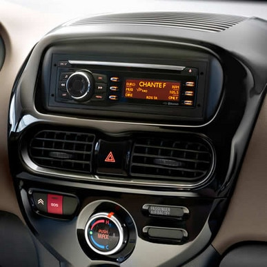 citroen c zero dashboard