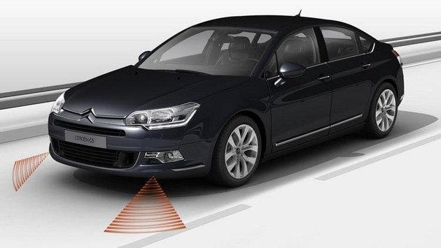 Citroën C5 Saloon - Lane Departure Warning System