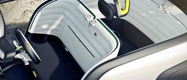 Citroën Lacoste concept car - Storage