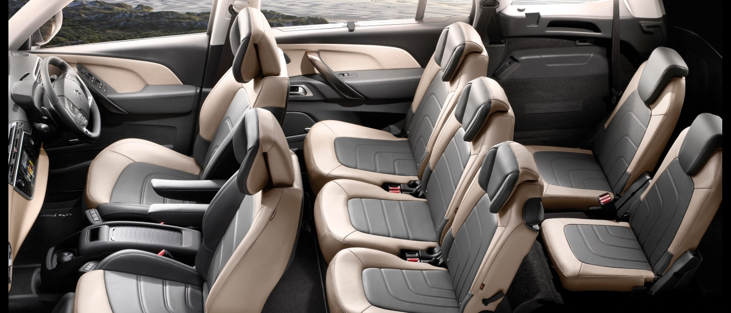 Citro n grand c4 picasso equipment prices photos citro n united kingdom - C4 picasso interior ...