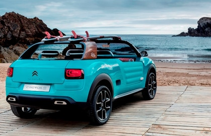 New Citroën Cactus M Concept Car: Free your mind!