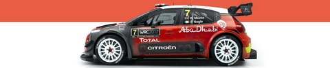 Citroën Racing officially unveils its C3 WRC in Abu Dhabi.