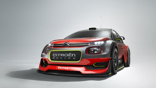Citroën 2017 WRC Concept Car Reveal