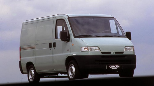 Market launch of the Citroën Jumper