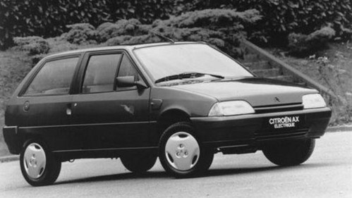 Market launch of the Citroën AX Electric