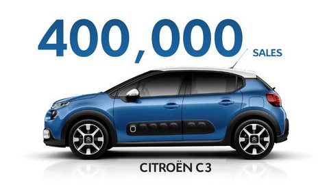 Citroën C3: 400,000 Sales In Less Than Two Years