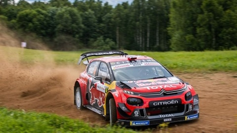 The C3 WRC All Set To Show Off Its Acrobatic Talents