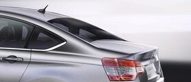 Citroën C5 Saloon - Concave rear window