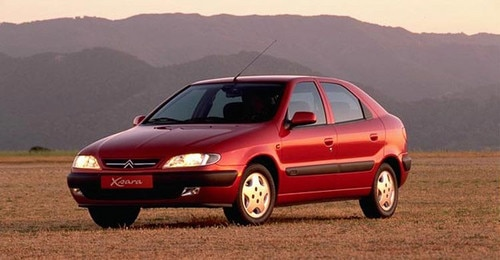 Commercial launch of Citroën Xsara