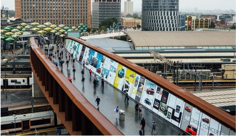 Citroën Takes Over The Bridge At Westfield Stratford City