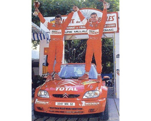 Loeb & Elena  France & World Rally Champions (junior)