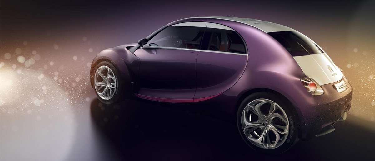 Citroën Revolte concept car  - A heritage of transgressive styling
