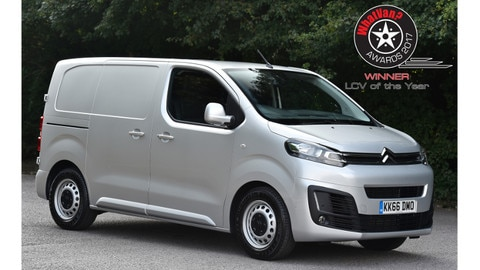 New Citroën Dispatch Wins What Van? Light Commercial Vehicle of the Year Award For 2017