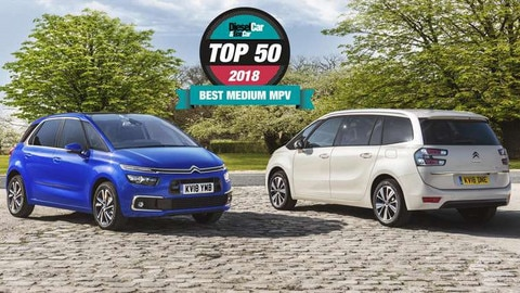 Citroën C4 Picasso & Grand C4 Picasso Named Best Medium MPV For Third Year Running