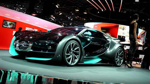 Citroën Survolt reveal at the Geneva Motor Show