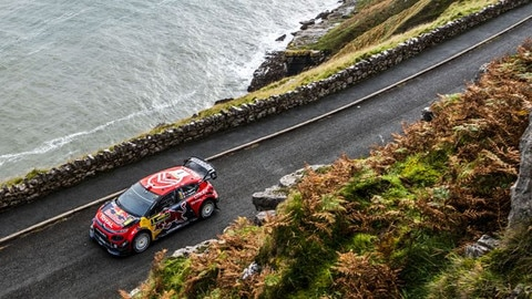 Citroën And Ogier Take Bronze In Wales Rally GB
