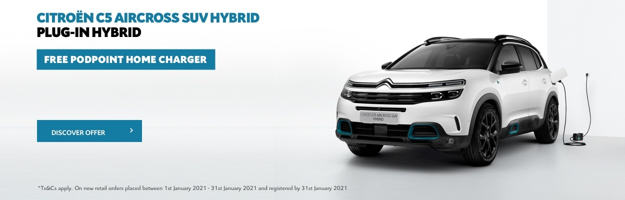 C5 AIRCROSS PHEV Podpoint Offer