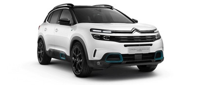 White Citroen C5 Aircross