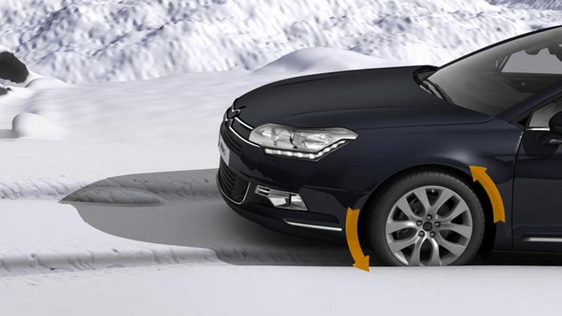 Citroën C5 Tourer - Intelligent Traction Control
