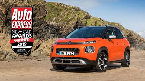 Double Win For Double Chevrons Citroën Honoured At Auto Express New Car Awards 2019