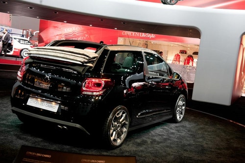 Citroën DS3 Cabrio reveal at the Paris Motor Show