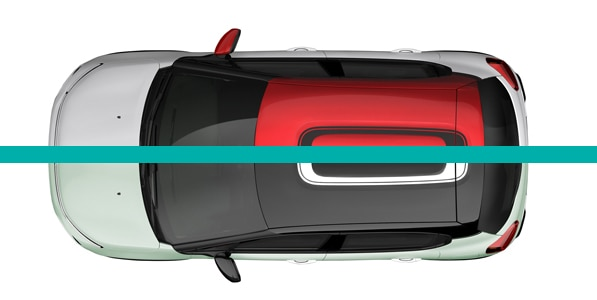 New Citroen C3 Roof Design