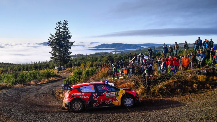The C3 WRC Returns To Europe - Citroën Ireland