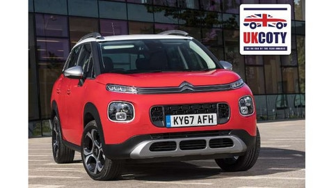 New Citroën C3 Aircross Named 'Best Small Crossover' In UK Car Of The Year Awards 2018