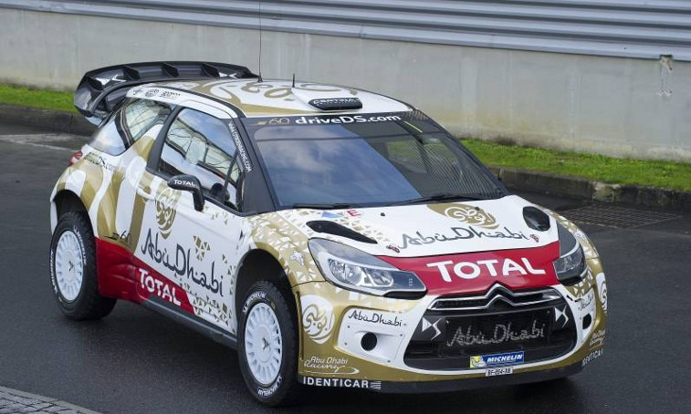 DS3 new livery WRC