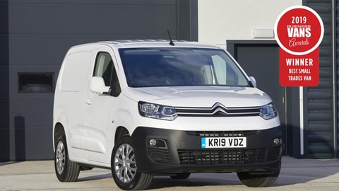 New Citroën Berlingo Van And Berlingo Electric Van Take Top Honours At The 2019 Business Van Awards