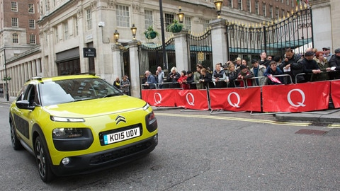 Citroën rocks the red carpet at 2015 Q Awards